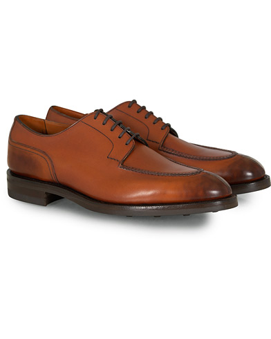 Edward Green Dover Split Toe Derby Chestnut i gruppen Skor hos Care of Carl (12004011r)