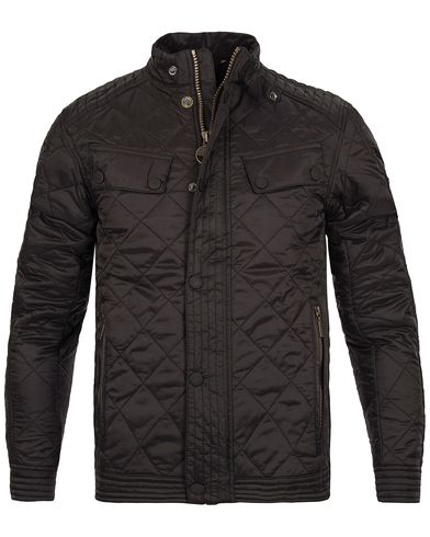 Barbour International Coolant Quilt Jacket Black i gruppen Klær / Jakker / Quiltede jakker hos Care of Carl (12015911r)
