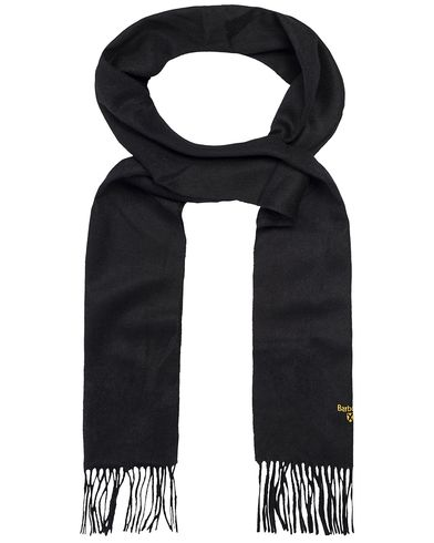 Barbour Lifestyle Plain Lambswool Scarf Black  i gruppen Accessoarer / Halsdukar hos Care of Carl (12018510)