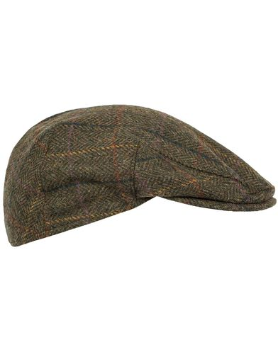 Barbour Lifestyle Moons Tweed Cap Olive Herringbone i gruppen Accessoarer / Kepsar hos Care of Carl (12018811r)