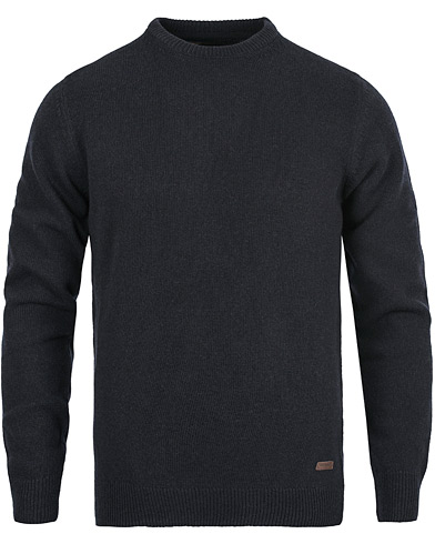Barbour Lifestyle Patch Crew Navy i gruppen Kläder / Tröjor / Pullovers / Rundhalsade pullovers hos Care of Carl (12019511r)