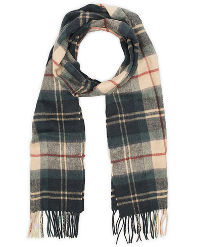 Barbour for Land Rover Land Rover Lambswool Scarf Tartan  i gruppen Tilbehør / Halstørklæder hos Care of Carl (12020210)