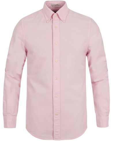 The Perfect Oxford Fitted Body Shirt Pastel Pink i gruppen Tøj / Skjorter / Oxfordskjorter hos Care of Carl (12032111r)