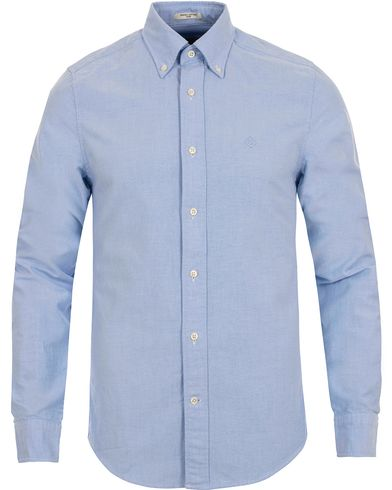 The Perfect Oxford Fitted Body Shirt Capri Blue i gruppen Skjortor / Casual Skjortor hos Care of Carl (12032411r)