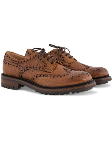 Cheaney Avon C Derby Almond Grained Calf i gruppen Sko / Brogues hos Care of Carl (12049611r)