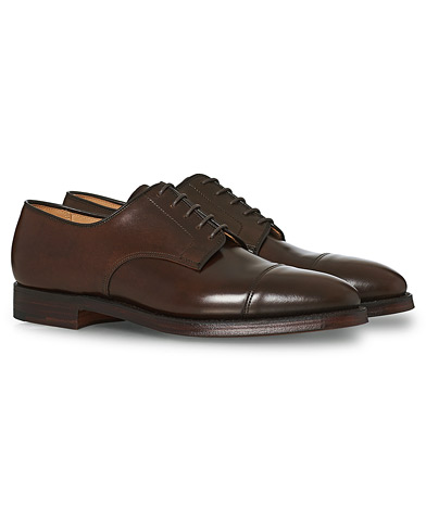 Crockett & Jones Bradford Derby Dark Brown Cordovan i gruppen Sko / Derbys hos Care of Carl (12050611r)