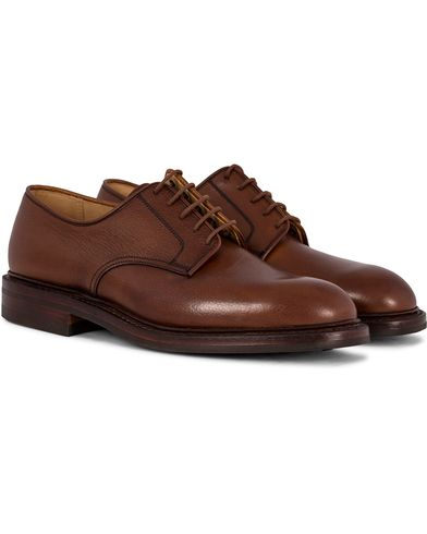 Crockett & Jones Grasmere Derby Tan Grained Calf i gruppen Skor hos Care of Carl (12050711r)