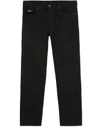 BOSS Maine 3 Regular Fit Jeans  Black i gruppen Jeans / Rette Jeans hos Care of Carl (12070211r)