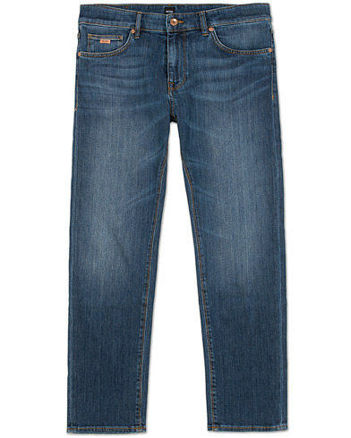 BOSS Maine 3 Regular Fit Jeans Mid Blue i gruppen Jeans / Regular fit jeans hos Care of Carl (12070611r)