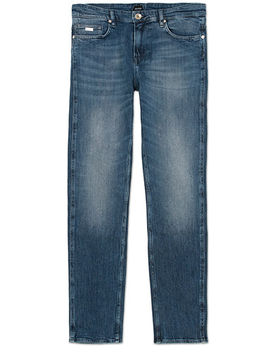 BOSS Delaware 3 Jeans Washed Blue i gruppen Klær / Jeans / Smale jeans hos Care of Carl (12071011r)