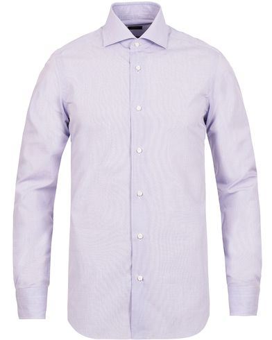 Barba Napoli Slim Fit Shirt Lavendel i gruppen Klær / Skjorter hos Care of Carl (12077311r)