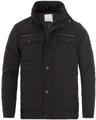 J.Lindeberg Bailey 56 Structured Poly Jacket Black i gruppen Tøj / Jakker / Forede jakker hos Care of Carl (12083011r)