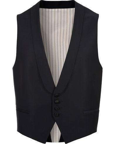 Morris Heritage Charlei Tuxedo Waistcoat Navy i gruppen Design A / Dressjakker / Vester hos Care of Carl (12094811r)