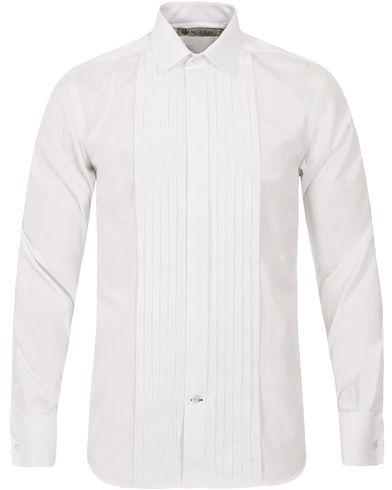 Morris Heritage Tuxedo DC Shirt White i gruppen Klær / Skjorter / Smokingskjorter hos Care of Carl (12094911r)