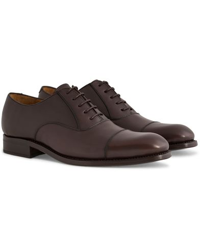 Morris Heritage Oxford Leather Shoe Brown i gruppen Skor / Oxfords hos Care of Carl (12115111r)