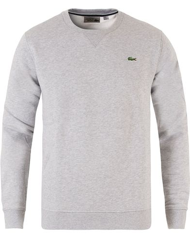 Lacoste Sweatshirts Silver Chine i gruppen Tröjor / Sweatshirts hos Care of Carl (12120111r)