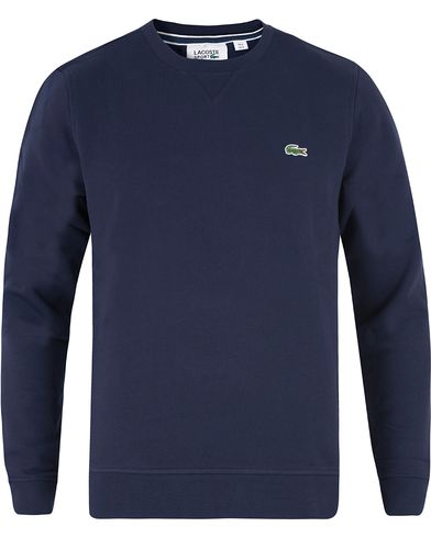 Lacoste Sweatshirts Navy Blue i gruppen Tröjor / Sweatshirts hos Care of Carl (12120211r)