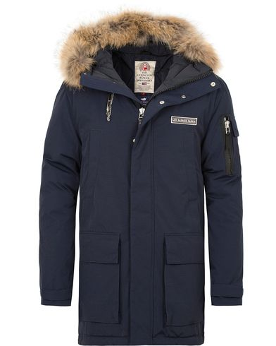 Lexington Madison Down Parka Deepest Blue i gruppen Jackor / Parkas hos Care of Carl (12122911r)