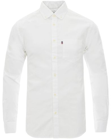 Lexington Kyle Oxford Shirt Bright White i gruppen Moderne klassikere / Buttondown-skjorter hos Care of Carl (12123311r)