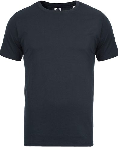NN07 Pima Plain Tee 3208 Navy i gruppen T-Shirts / Kortærmede t-shirts hos Care of Carl (12130111r)