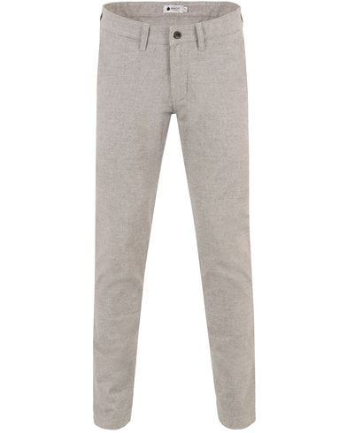 NN07 Marco 1138 Trousers Light Grey i gruppen Byxor / Flanellbyxor hos Care of Carl (12130811r)