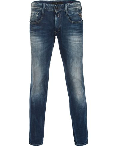 Replay M914 Anbass Jeans Blue i gruppen Jeans / Avsmalnende jeans hos Care of Carl (12134311r)