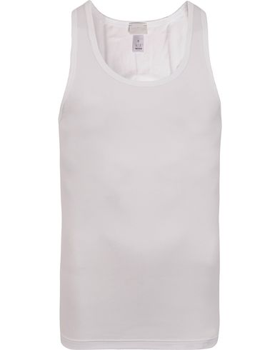 HANRO Cotton Superior Tank Top White i gruppen Design A / T-Shirts / Trøyer hos Care of Carl (12144311r)