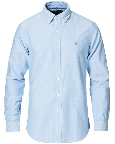 Polo Ralph Lauren Core Fit Shirt Oxford Blue i gruppen Klær / Skjorter hos Care of Carl (12144811r)