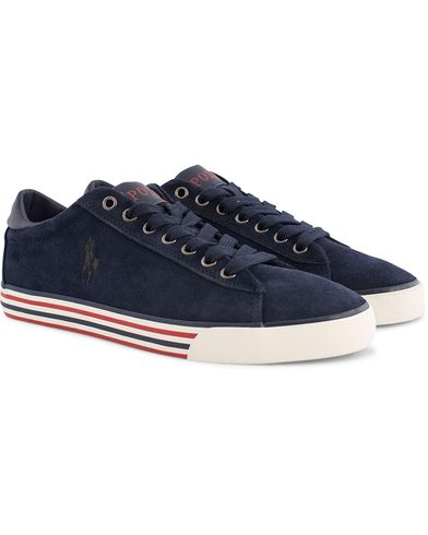 Polo Ralph Lauren Harvey Sneaker Navy Suede i gruppen Sko / Sneakers hos Care of Carl (12158311r)