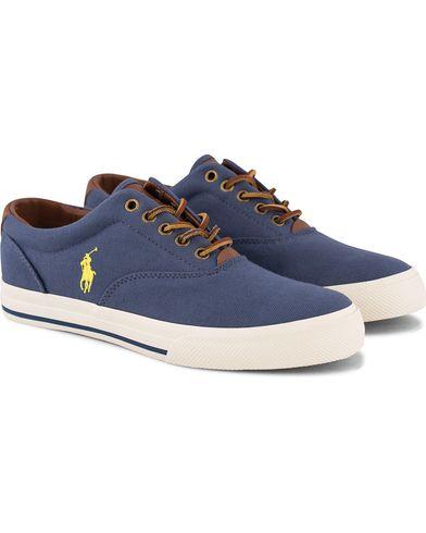 Polo Ralph Lauren Vaughn Sneaker Aviator Navy i gruppen Skor / Sneakers / Låga sneakers hos Care of Carl (12158911r)