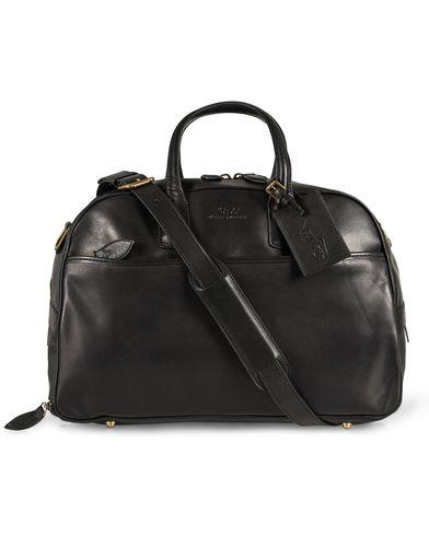 Polo Ralph Lauren Sport Holiday Leather Weekend Bag Black  i gruppen Väskor / Weekendbags hos Care of Carl (12184210)