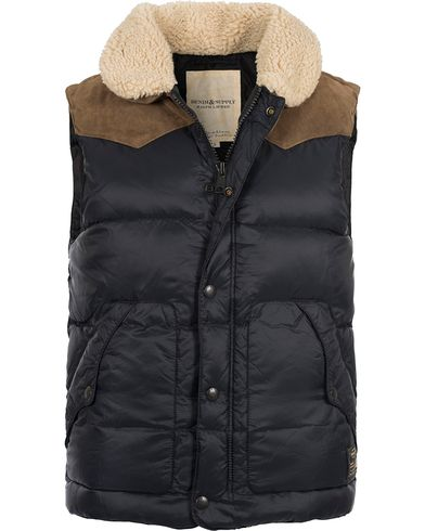 Denim & Supply Ralph Lauren Down Fill Vest Black i gruppen Jakker / Yttervester hos Care of Carl (12188811r)