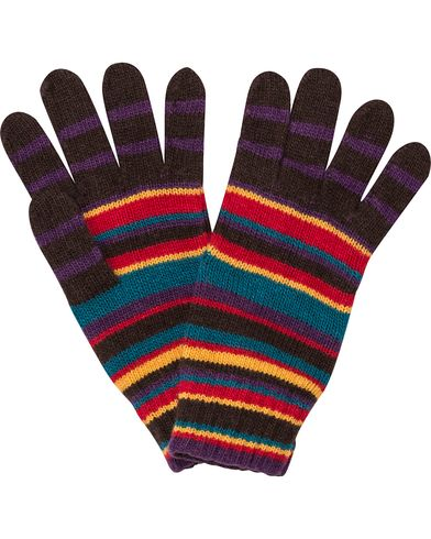 Paul Smith Cashmere Knitted Glove Multi  i gruppen Assesoarer / Hansker hos Care of Carl (12209710)