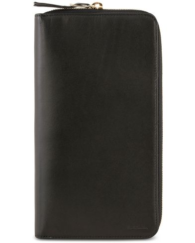 Paul Smith Travel Multistripe Wallet Black  i gruppen Assesoarer / Lommebøker / Reiselommebøker hos Care of Carl (12210710)