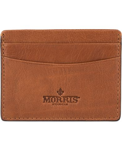 Morris Credit Card Holder Cognac  i gruppen Accessoarer / Plånböcker hos Care of Carl (12213310)