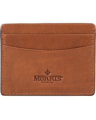 Morris Credit Card Holder Cognac  i gruppen Assesoarer / Lommebøker / Kortholdere hos Care of Carl (12213310)