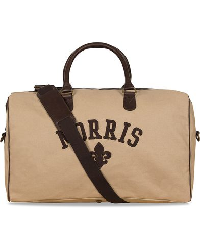 Morris Canvas Weekend Bag Sand  i gruppen Vesker / Weekendbager hos Care of Carl (12215010)