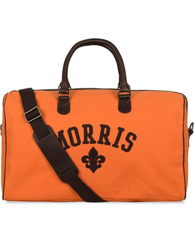 Morris Canvas Weekend Bag Orange  i gruppen Assesoarer / Vesker / Weekendbager hos Care of Carl (12215110)