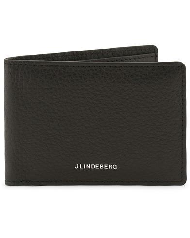 J.Lindeberg Credit Card Wallet Black  i gruppen Accessoarer / Plånböcker / Vanliga plånböcker hos Care of Carl (12217410)