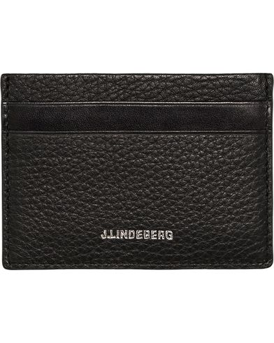 J.Lindeberg Credit Card Holder Black  i gruppen Assesoarer / Lommebøker / Kortholdere hos Care of Carl (12217510)