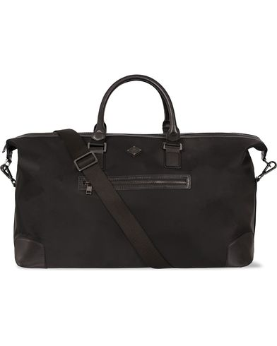 J.Lindeberg S-Bag 50001 Nylon/Leather Weekendbag Black i gruppen Väskor / Weekendbags hos Care of Carl (12217910)