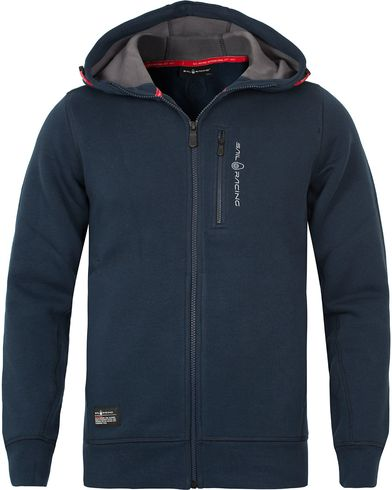 Sail Racing SR Zip Hood Navy i gruppen Kläder / Tröjor / Huvtröjor hos Care of Carl (12222011r)