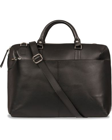 Sandqvist Dustin Leather Laptop Bag Black  i gruppen Väskor / Portföljer hos Care of Carl (12223210)