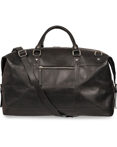 Sandqvist Jordan Leather Weekendbag Black  i gruppen Väskor / Weekendbags hos Care of Carl (12223410)