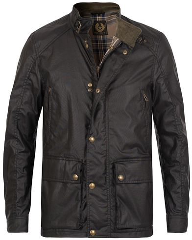 Belstaff New Tourmaster Waxed Jacket Black i gruppen Klær / Jakker / Voksede jakker hos Care of Carl (12260311r)