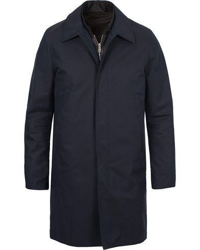 PS by Paul Smith Coat Navy i gruppen Jakker / Frakker hos Care of Carl (12276211r)