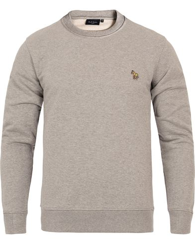 PS by Paul Smith Logo Sweatshirt Grey Melange i gruppen Klær / Gensere / Sweatshirts hos Care of Carl (12279011r)