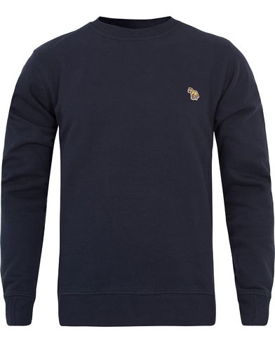 PS by Paul Smith Logo Sweatshirt Navy i gruppen Klær / Gensere / Sweatshirts hos Care of Carl (12279111r)