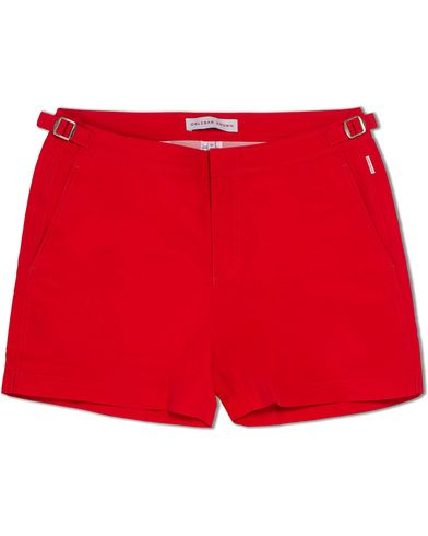 Orlebar Brown Setter Short Length Swim Shorts Rescue Red i gruppen Badbyxor hos Care of Carl (12282511r)