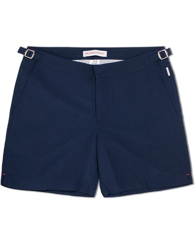 Orlebar Brown Bulldog Medium Length Swim Shorts Navy i gruppen Kläder / Badbyxor hos Care of Carl (12282611r)